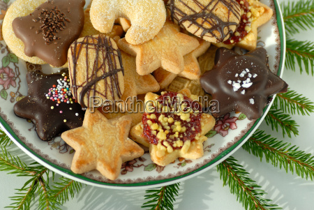 advent, cookies, on, a, plate - 943393