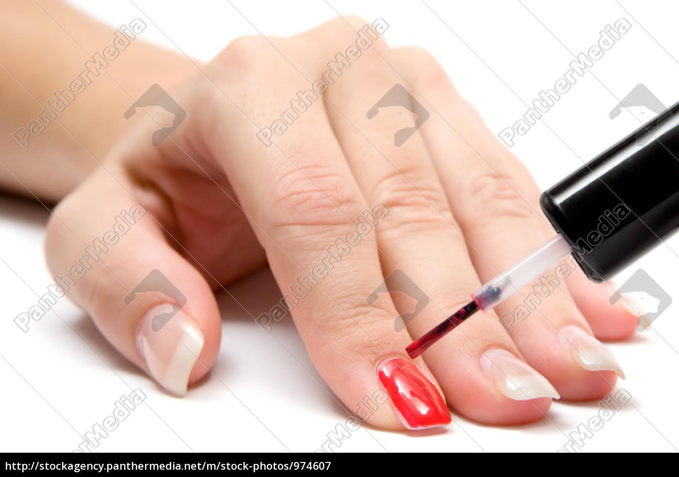 painted, fingernails - 974607