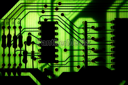 electronics engineering printed circuit board chip