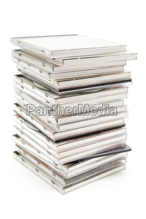 stacked, cd, cases - 1073921