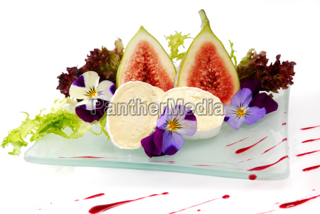 camembert, with, figs - 1077643