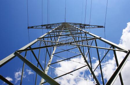 modern power poles
