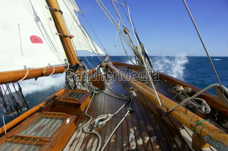sailing on board of a classic