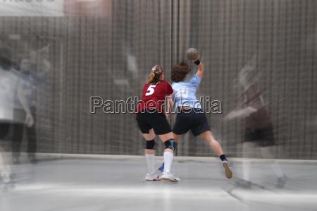 girls handball