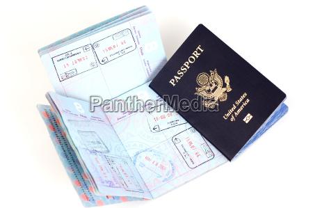 los pasaportes estadounidenses