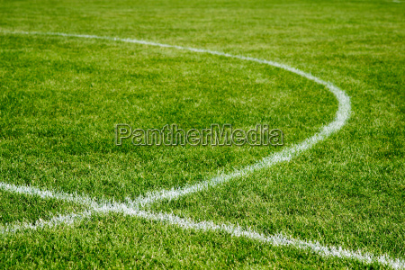 soccer field interecting lines