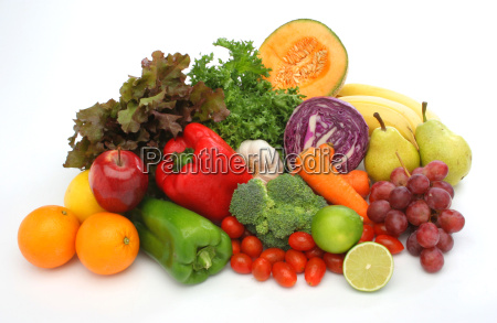 colorful group of vegetables and fruits