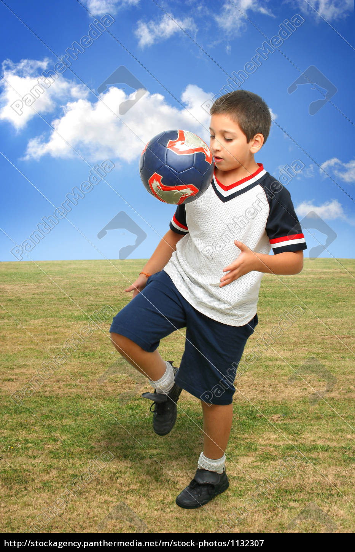 sport, sports, ball, outside, kid, kick - 1132307