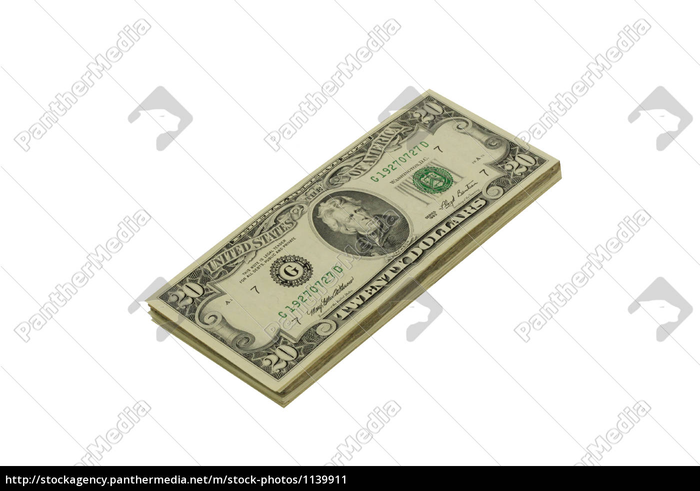 stack, of, twenty, dollar, bills - 1139911