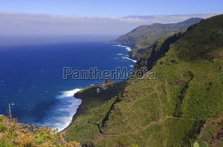 north coast of la palma canary