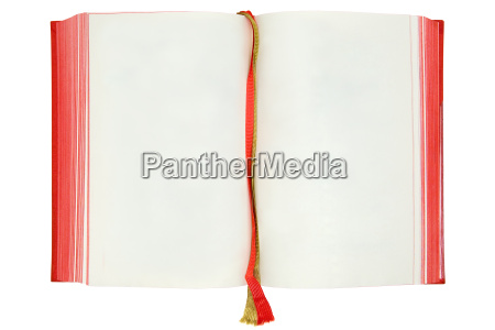 empty book pages