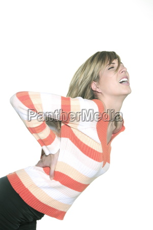 woman screaming and holding her