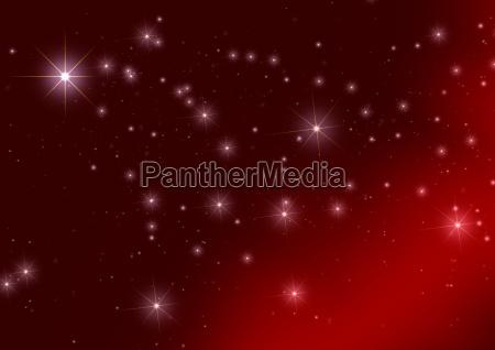 background christmas stars