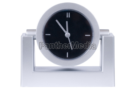 modern, silver, clock - 1191773