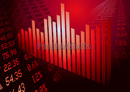 financial, figures, graph, red - 1228887