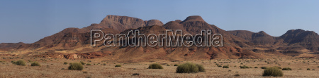 panorama in damaraland namibia