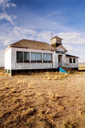 old abandoned pioneer school
