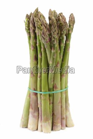 green raw asparagus league asparagus served