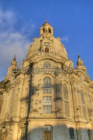 frauenkirche dresden facade