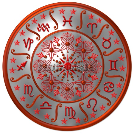 horoscope silver red