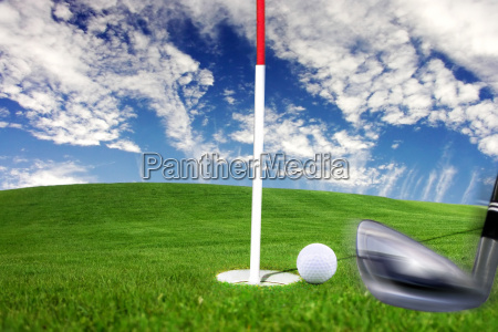 golf detail stroke baculine to the