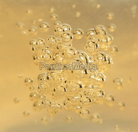 clean, yellow, bubblys, from, champagne - 1268309