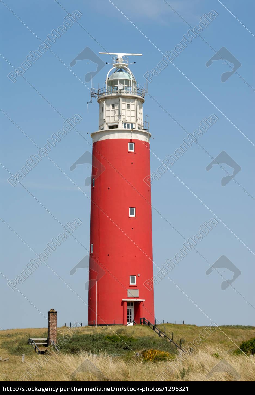 lighthouse, on, texel, holland - 1295321