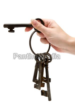 old cellar key