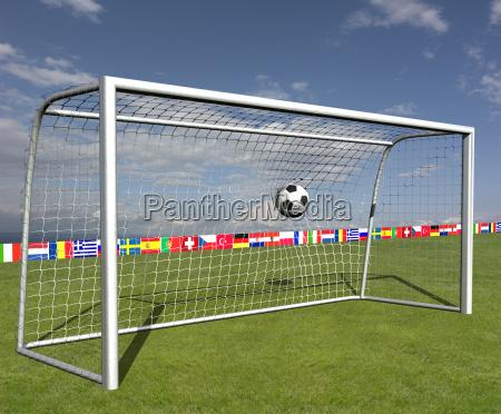 football, goal - 1305041