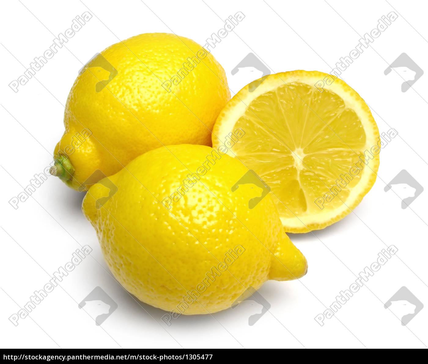 lemons, on, white - 1305477