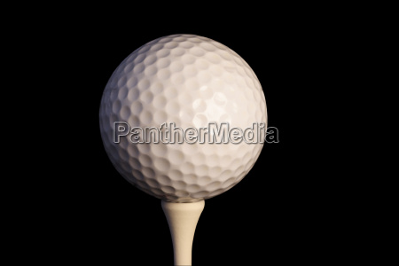 golf, ball, on, tee, with, clipping - 1306183