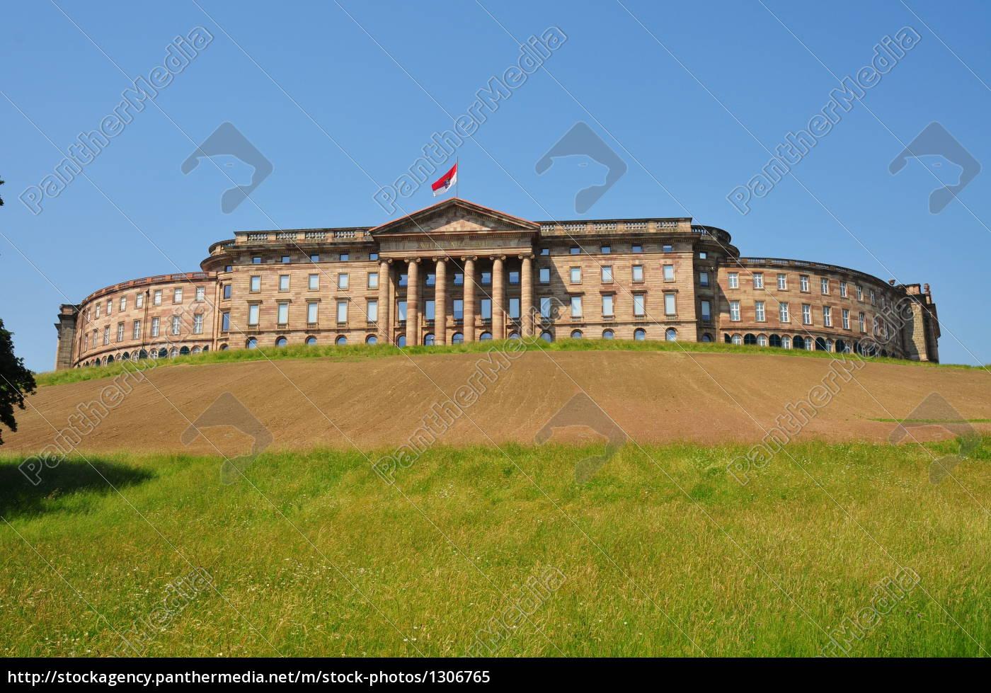 wilhelmshöhe, castle, in, kassel - 1306765