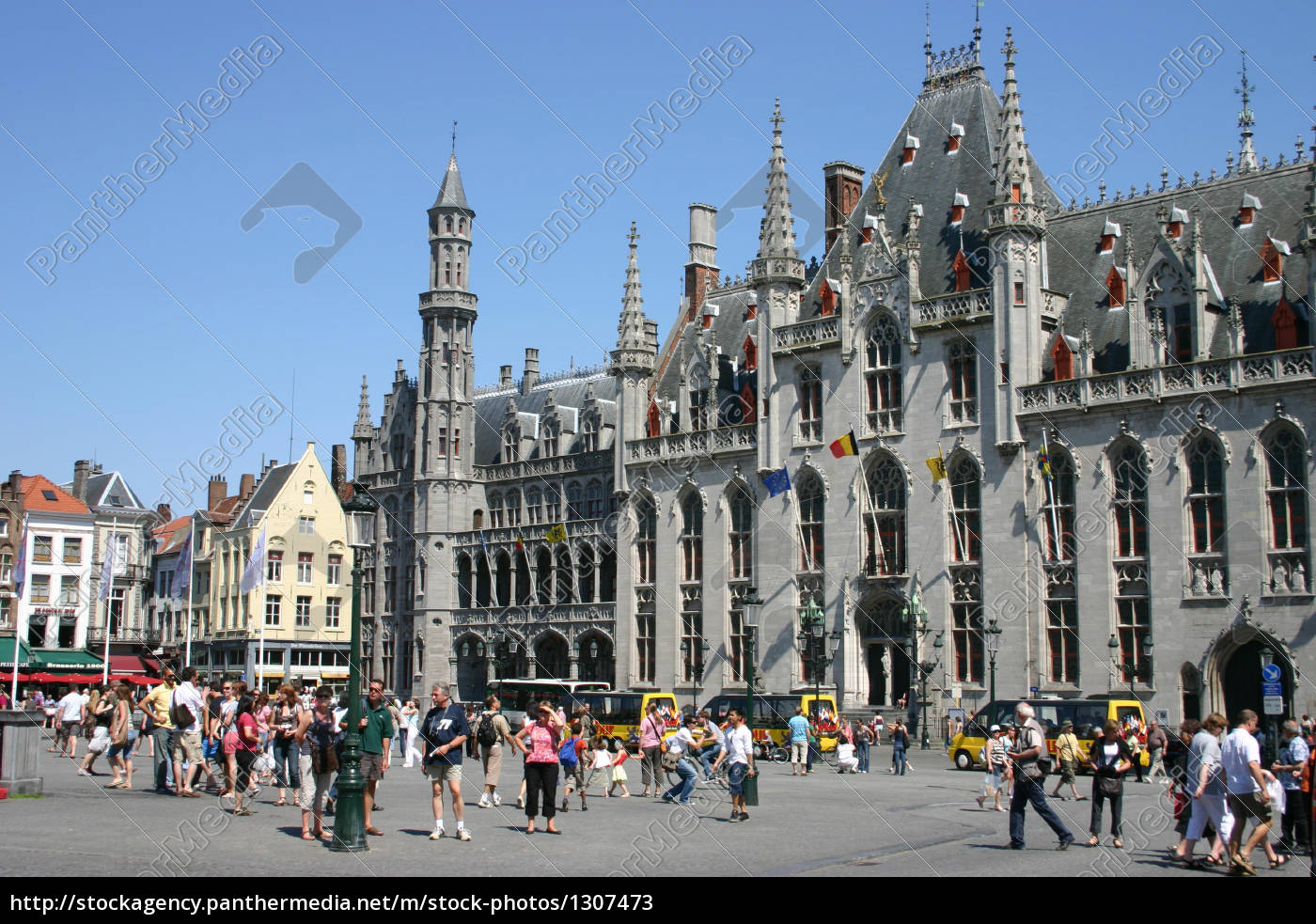 town, hall, in, bruges - 1307473