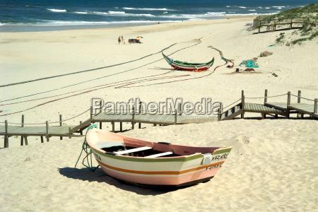 fishing, boat, at, sandstrand - 1313529