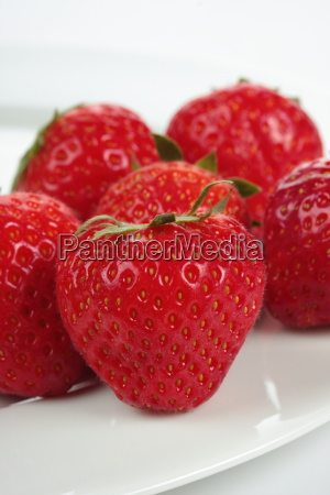 a lot of strawberries on a