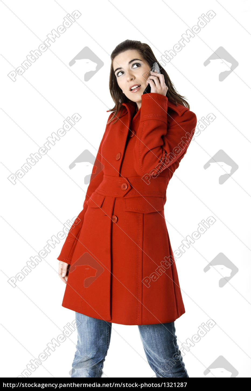 cellphone, woman - 1321287