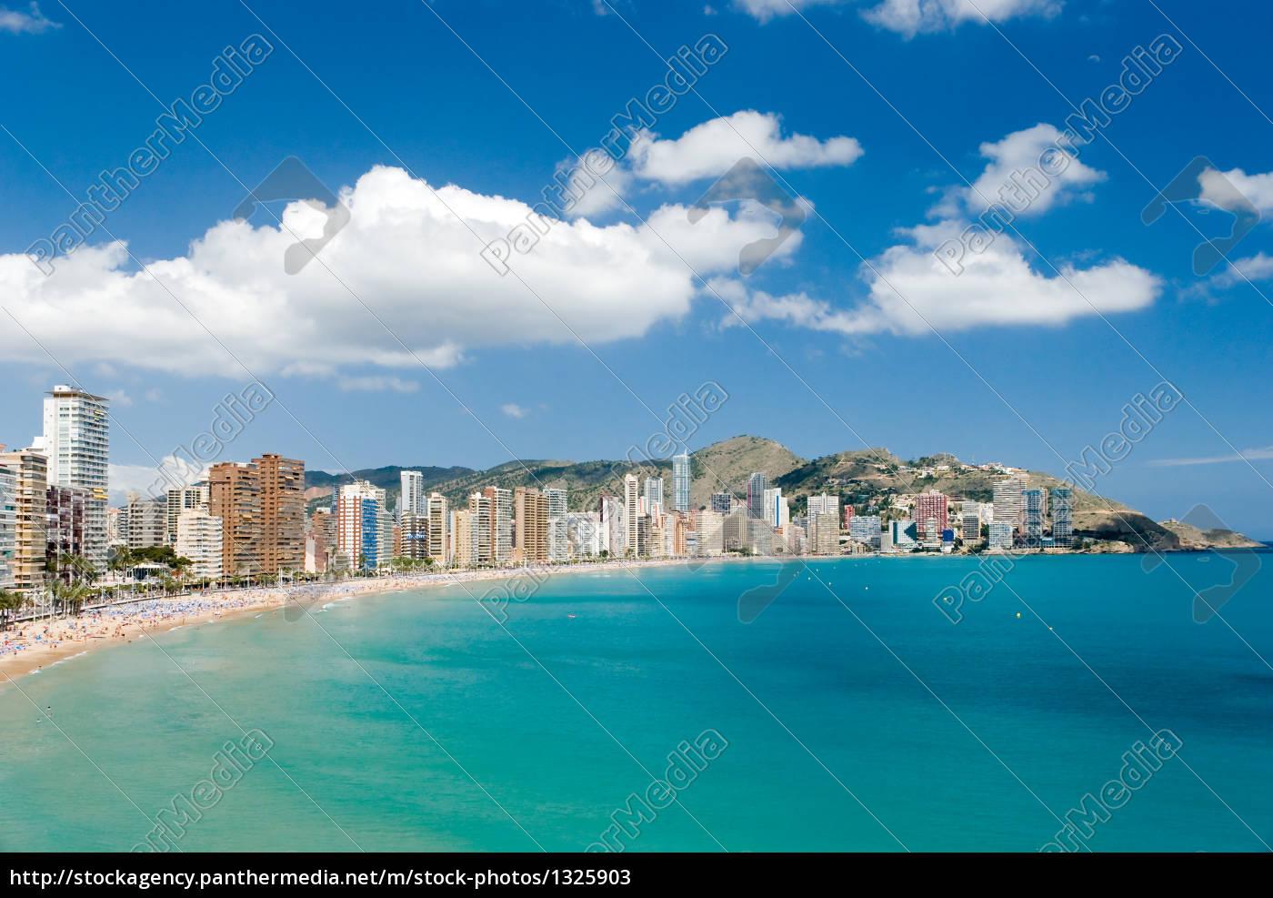 playa, levante-costa, blanca-benidorm - 1325903