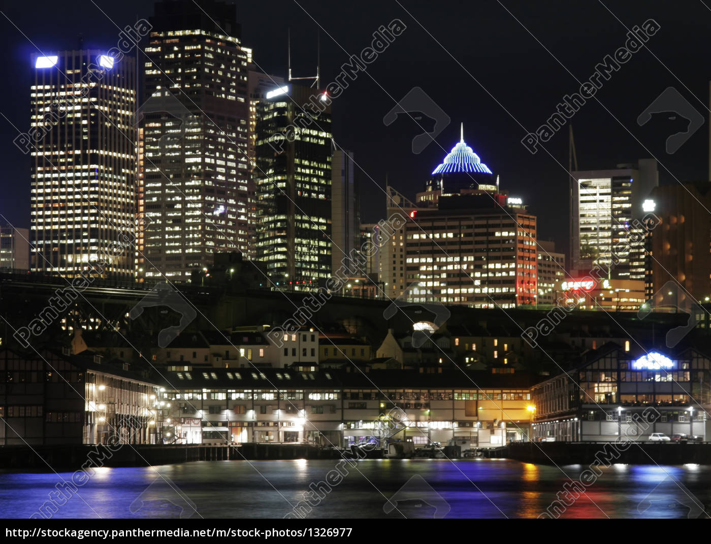 sydney, at, night - 1326977