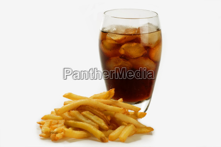 fries and cola