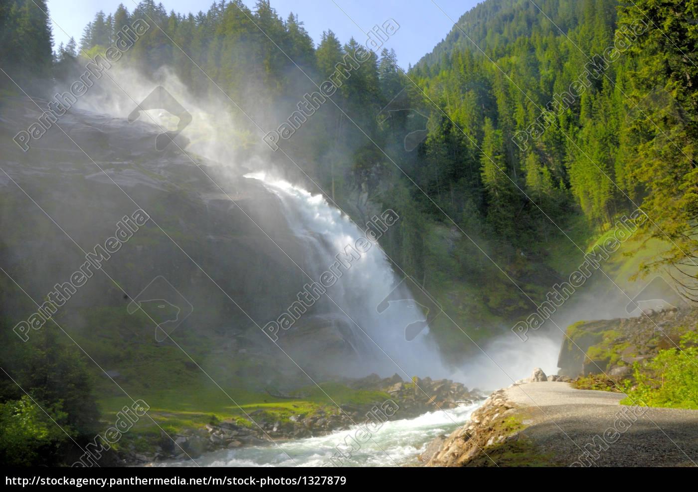 krimmler, waterfall - 1327879