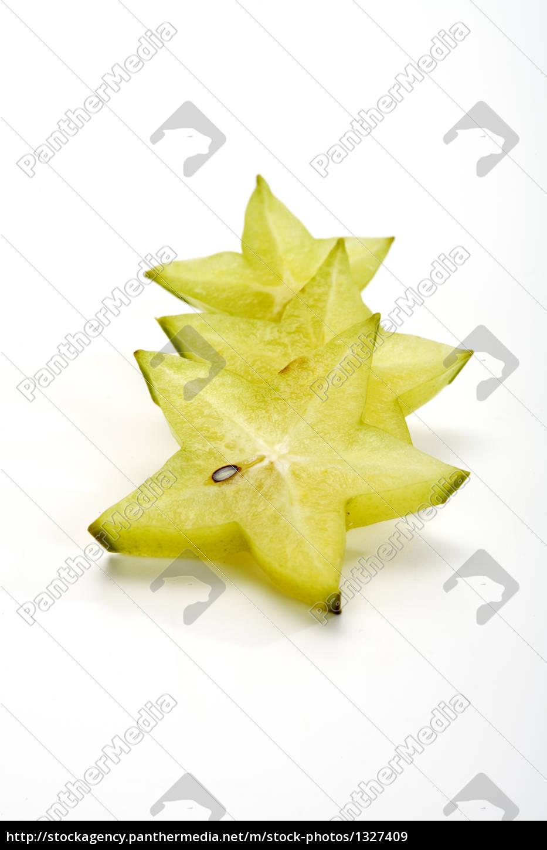 the, cut, starfruit - 1327409