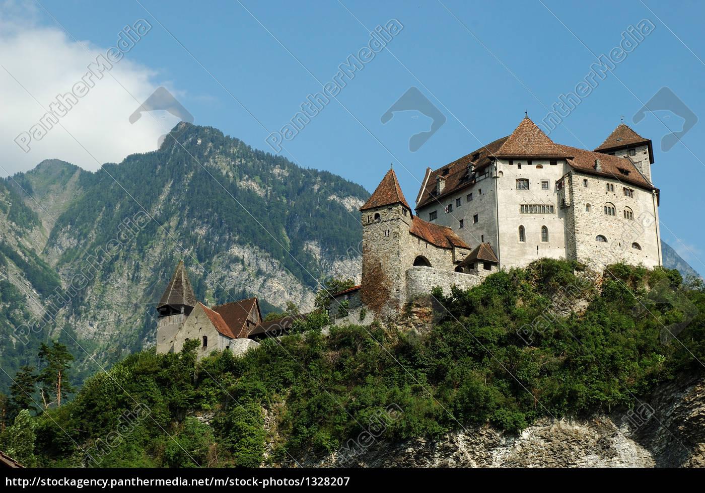 liechtenstein, -, gutenberg, castle - 1328207