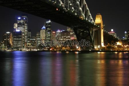 sydney, harbour, bridge, at, night - 1328489