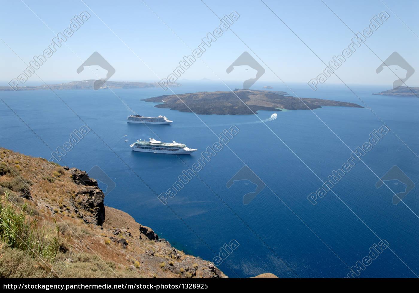 views, over, the, caldera, santorini - 1328925