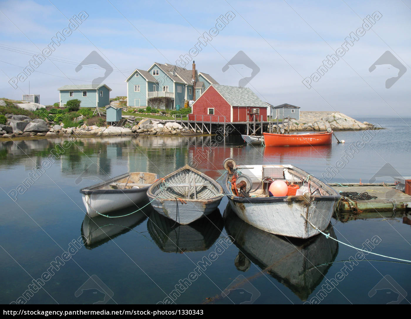 fishing, port, of, peggys, cove - 1330343