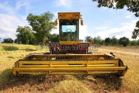 old, harvester - 1331941