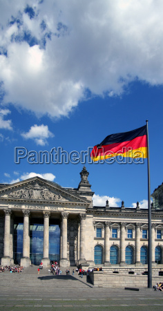 reichstag, and, flag - 1334869