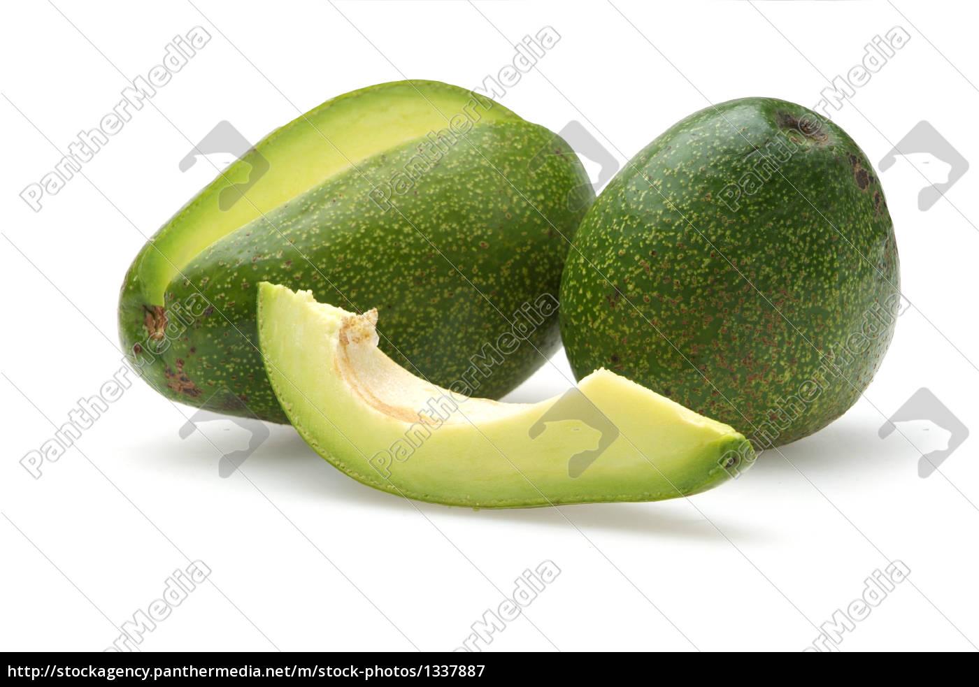 delicious, avocados, on, a, white, background - 1337887
