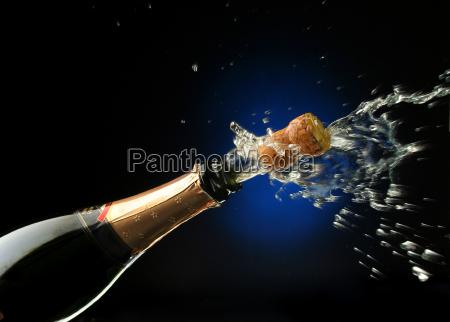 champagne, bottle, ready, for, celebration - 1338211