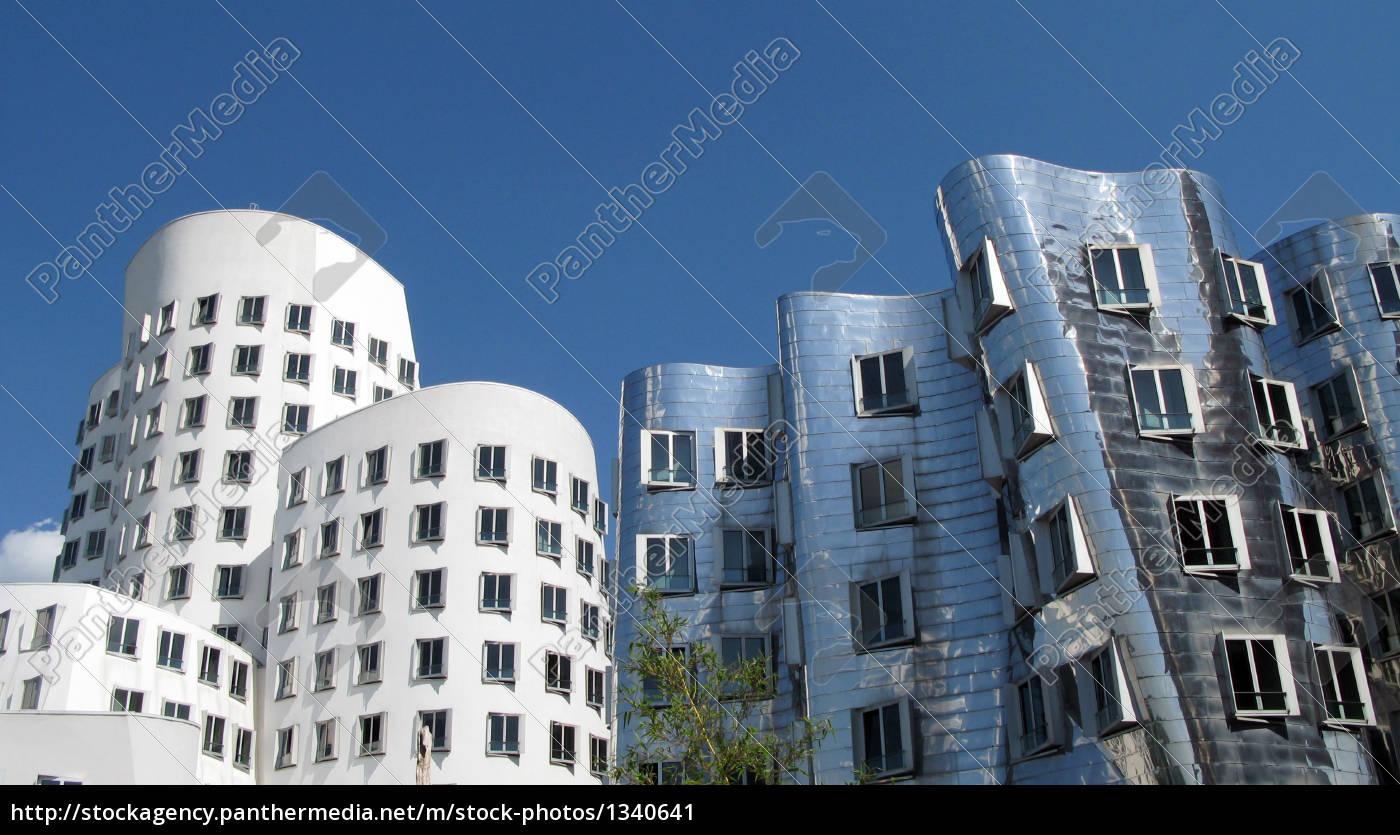 gehry, buildings, in, düsseldorf - 1340641